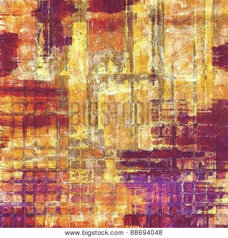 Abstract grunge background. With different color patterns: yellow (beige); purple (violet); pink; red (orange)