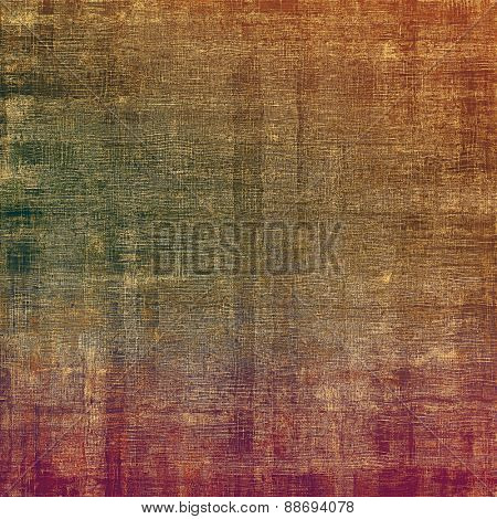 Vintage old texture for background. With different color patterns: yellow (beige); brown; green; pink