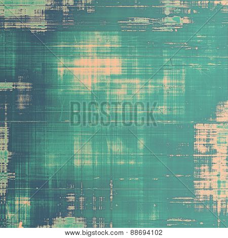 Old texture - perfect background with space for your text or image. With different color patterns: gray; blue; cyan