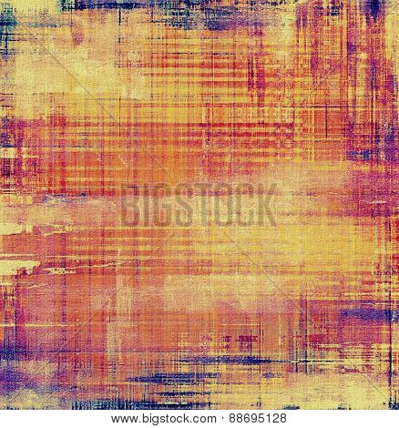 Vintage texture. With different color patterns: yellow (beige); purple (violet); blue; red (orange)