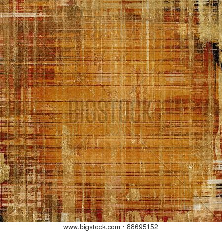 Vintage old texture for background. With different color patterns: yellow (beige); brown; gray