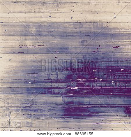 Grunge texture. With different color patterns: gray; purple (violet); blue