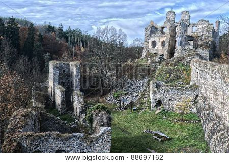 Romantic Castle Ruins
