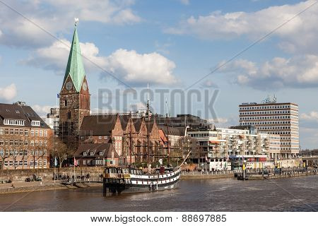 Skyline of Bremen, Germany