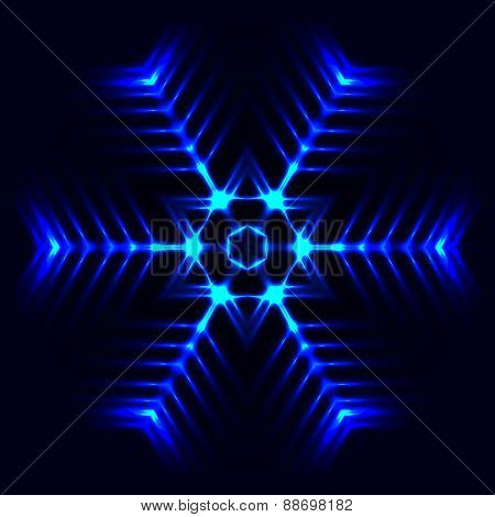 Abstract Cosmic Star