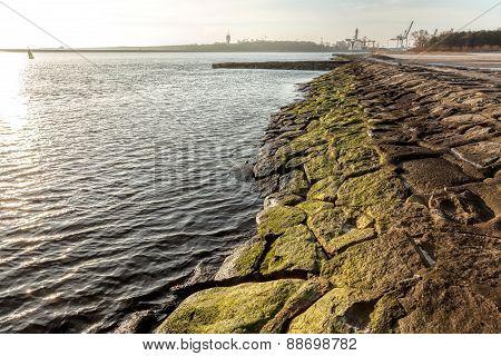 Old Port Embankment.