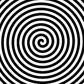 pic of hypnotizing  - Black and white hypnosis spiral - JPG