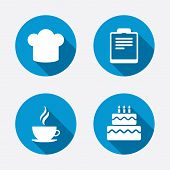 pic of birthday hat  - Coffee cup icon - JPG