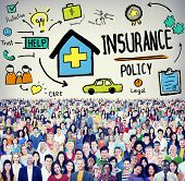 image of trust  - Insurance Policy Help Legal Care Trust Protection Protection Concept - JPG
