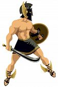 picture of perseus  - The Greek hero Perseus - JPG