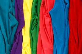 foto of panty-hose  - Colorful stockings background - JPG