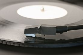 image of lp  - Vinyl Record or LP and record player stylus - JPG