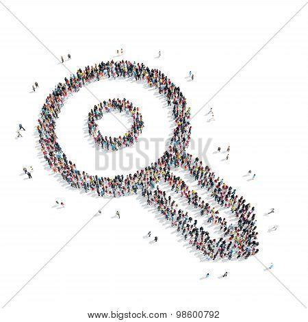 group  people  shape  key