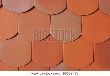 Roofing tile beavertail tiles