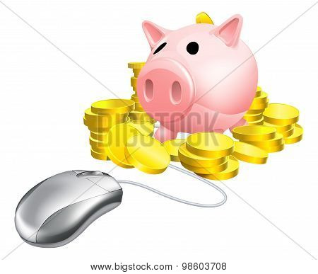 Mouse Piggy Bank Concept