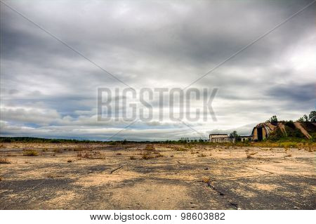 Abandoned Military Airfield