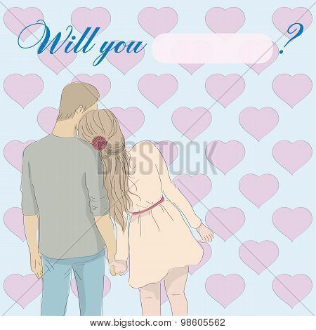 Card: Will You Marry Me?