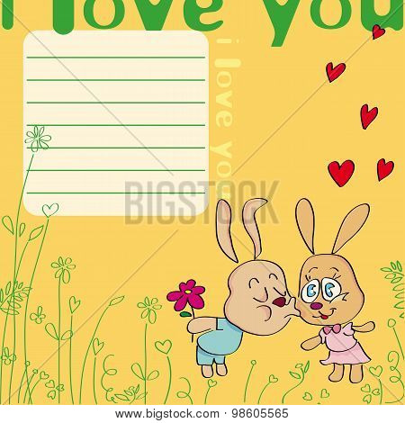 I Love You With Rabbit