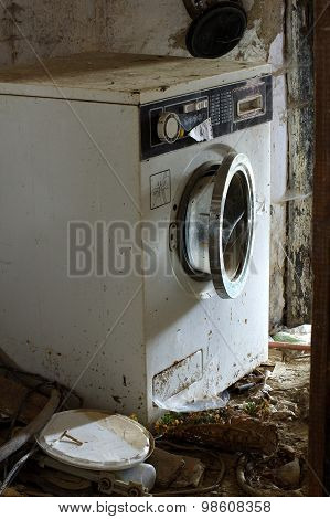 washing machine broken