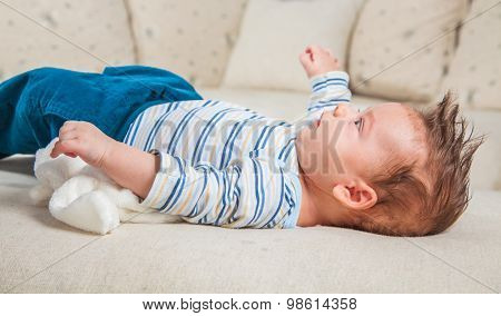 2 Months Old Baby Boy At Home