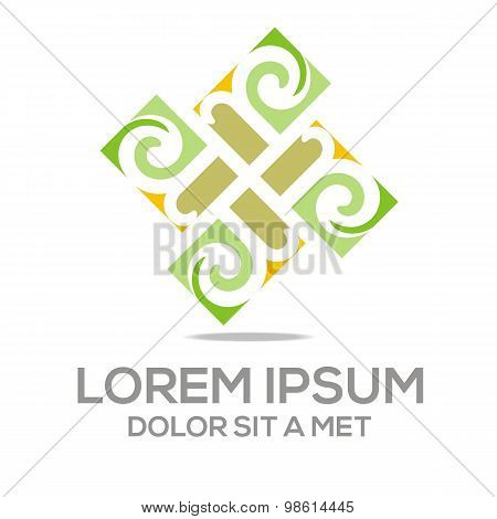 Abstract logo business vector