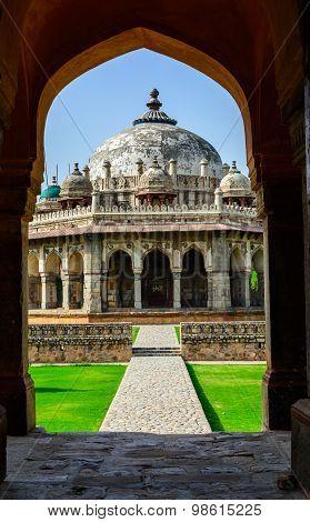 Isa Khan Tomb Enclosure.