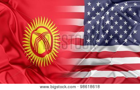 USA and Kyrgyzstan