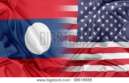 USA and Laos