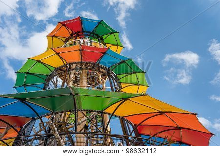 Colorful Jungle Gym