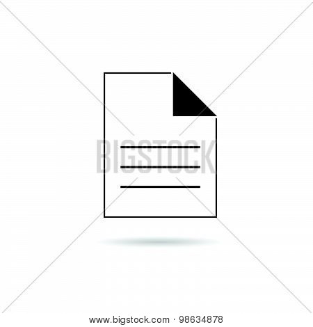 Piece Of Paper Vector