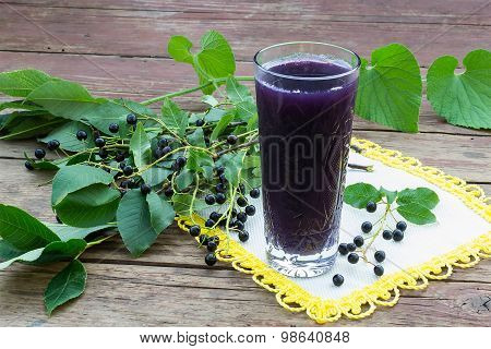 Soft Drink With Juice Bird Cherry