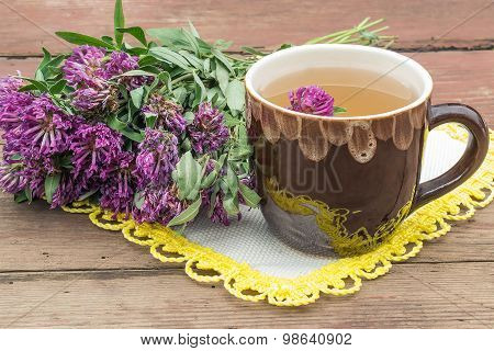 Herbal Medicine: Herbal Tea With Clover