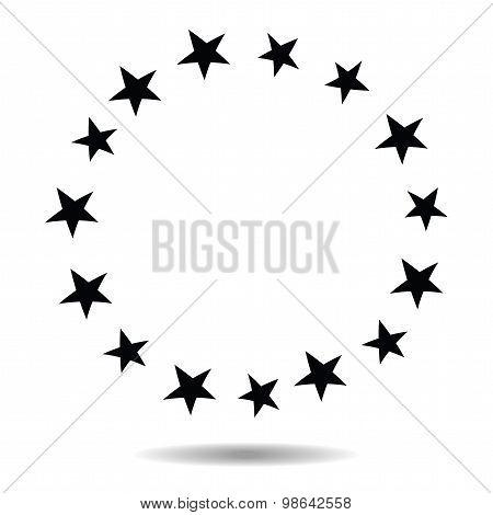 Stars Border Frame