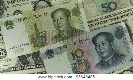 Yuan And Us Dollar 1