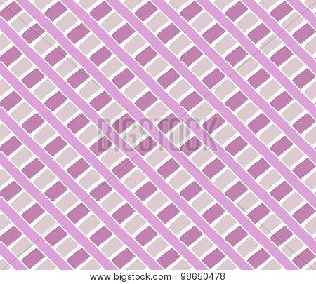 Pink vintage line pattern