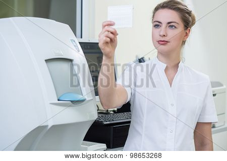 Worker Of Laboratory