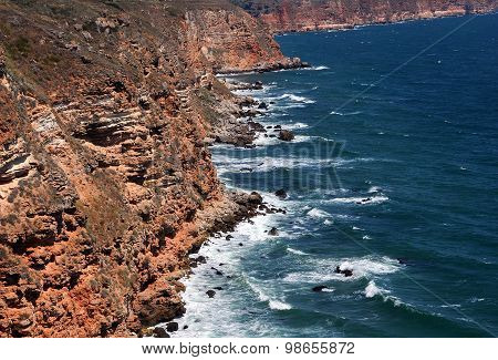 Rocks And Waters Of Kaliakra Cape