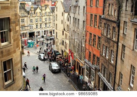 In the heart of Edinburgh's historic Old Town the Grassmarket area is one of the most vibrant picturesque and convivial areas of the city.