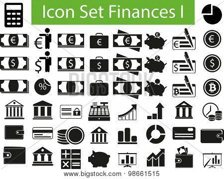 Icon Set Finances I