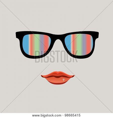 Gay pride decal female