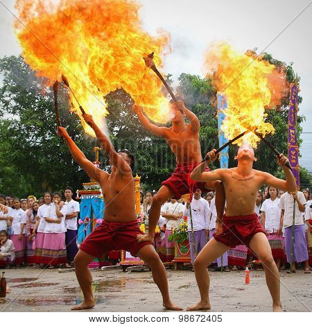 Performing Arts Fire Sword Dance, Cultural Traditions