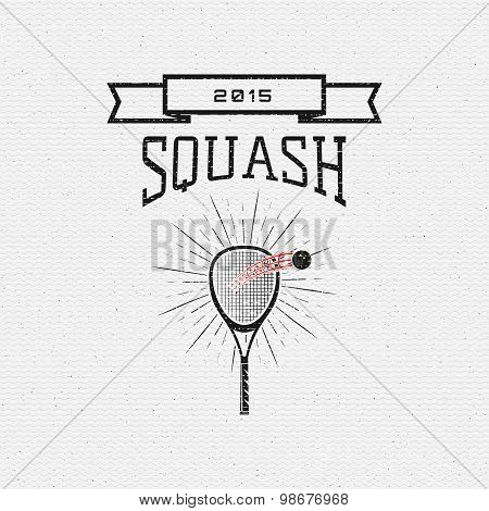 Squash badges logos and labels for any use