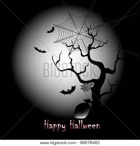 Happy Halloween dark night