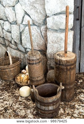 Bucket And Churn Tools