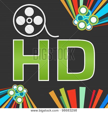 HD Dark Colorful Elements