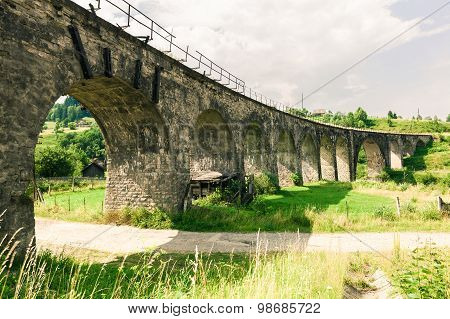 Old Railway Bridge Viaduct