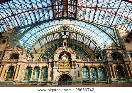 Antwerp Central Train Station