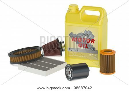 Motor Oil And Filters