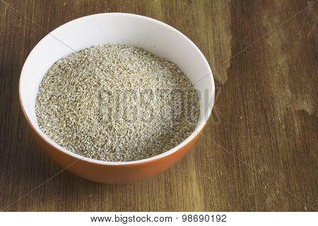 Bran In Orange Bowl