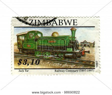 Zimbabwean Railway Stamp